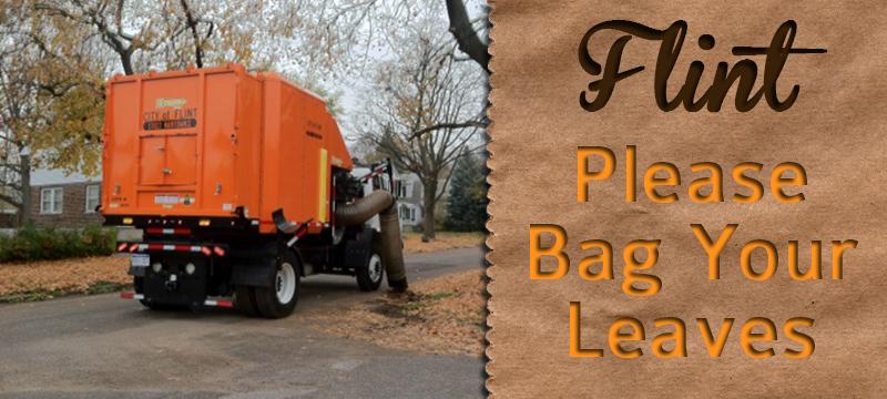 Flint Residents - Bag Your Leaves
