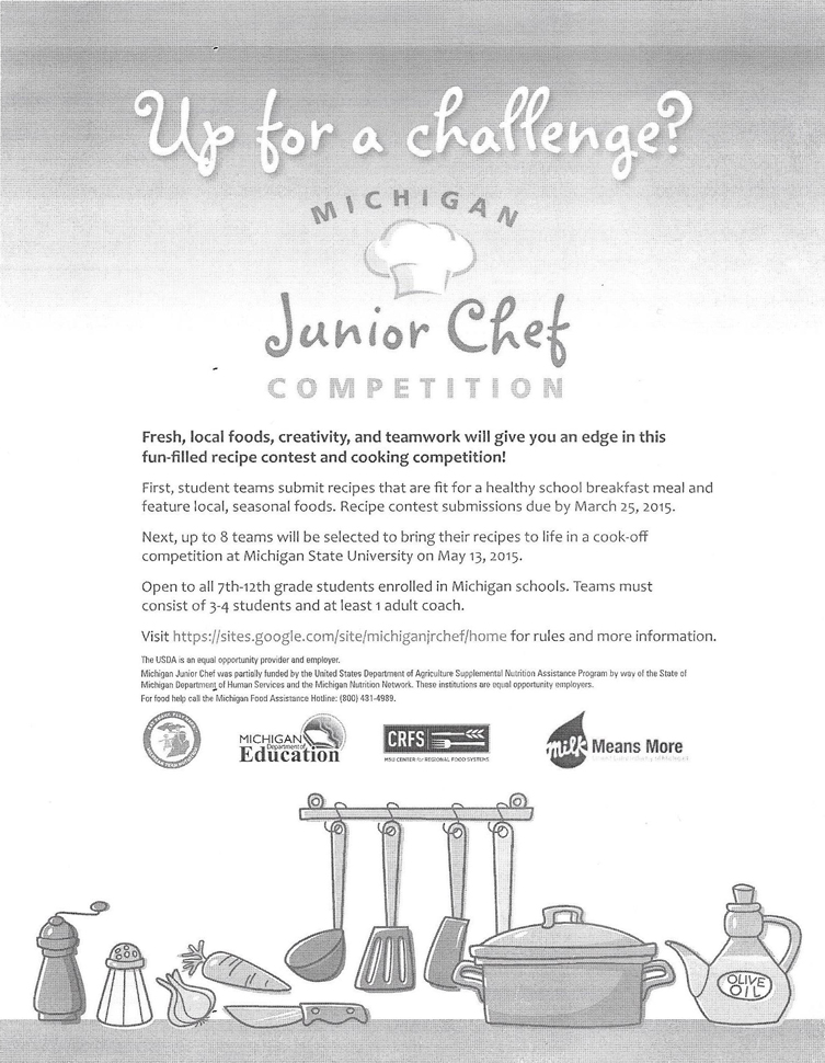 Michigan Junior Chef Competition