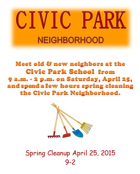 Civic Park Flyer