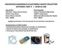 Household Hazardous Waste Flyer
