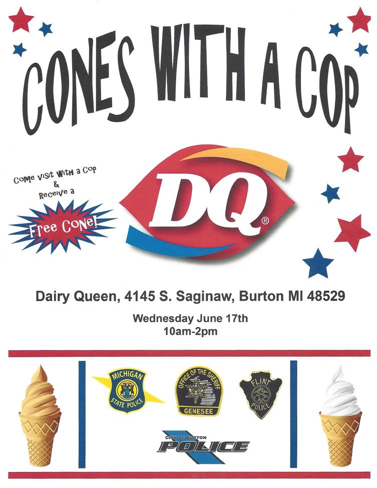 Cones with a Cop