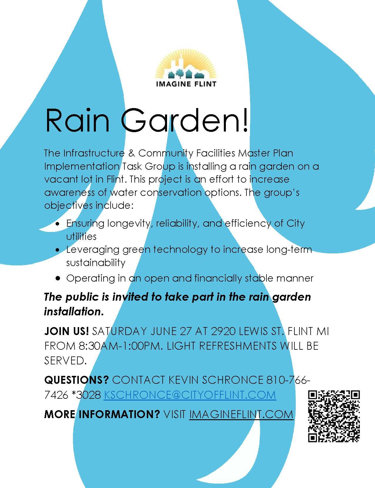 Flyer Rain Garden