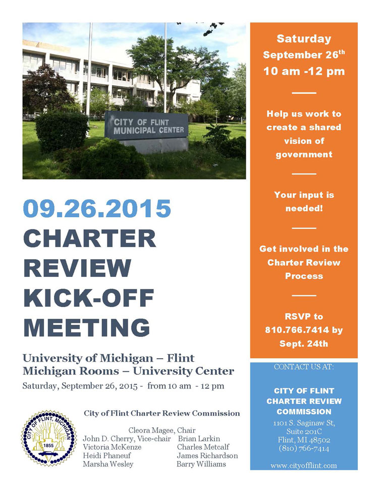 Charter Review Commission Kick-off Meeting