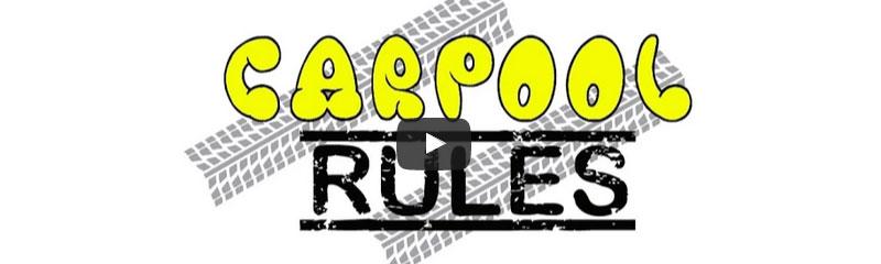 Carpool Rules created by Hadiyah Robinson