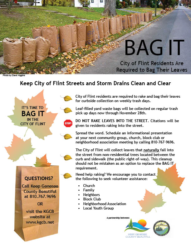 "KGCB and the City of Flint ""Bag It!"""