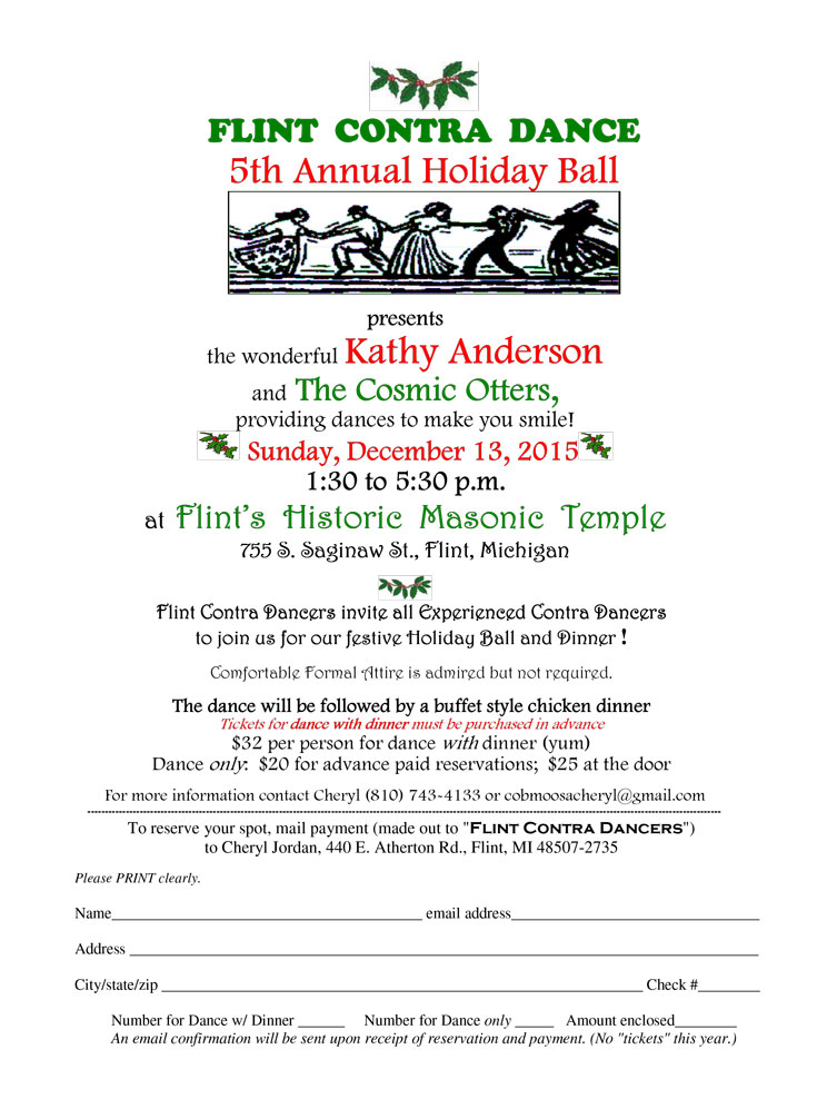 5th Annual Holiday Contra Ball