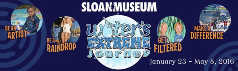 Exhibit explores science and history of Flint's water system at Sloan