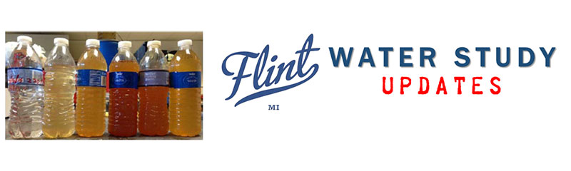 Flint Water Study Updates