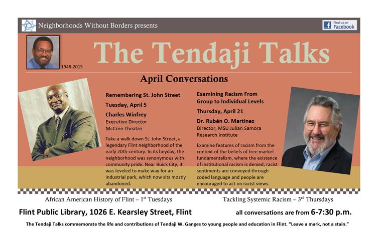 Tendaji Talks Series - April