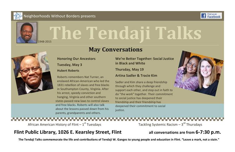 Tendaji Talks Series - May