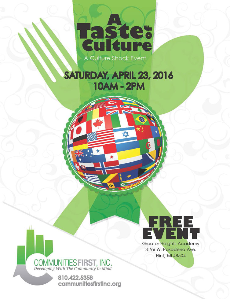 """A Taste of Culture"" Presented by Communities First Inc"