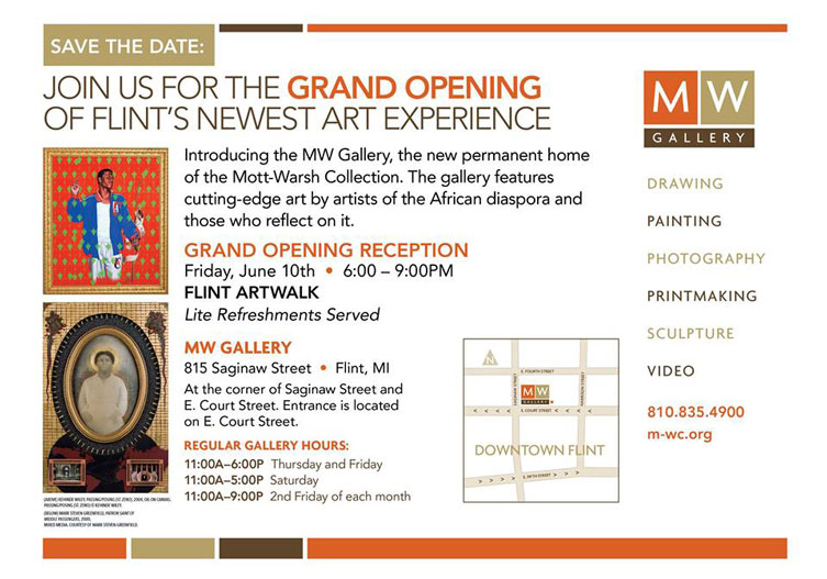 New art gallery in Flint