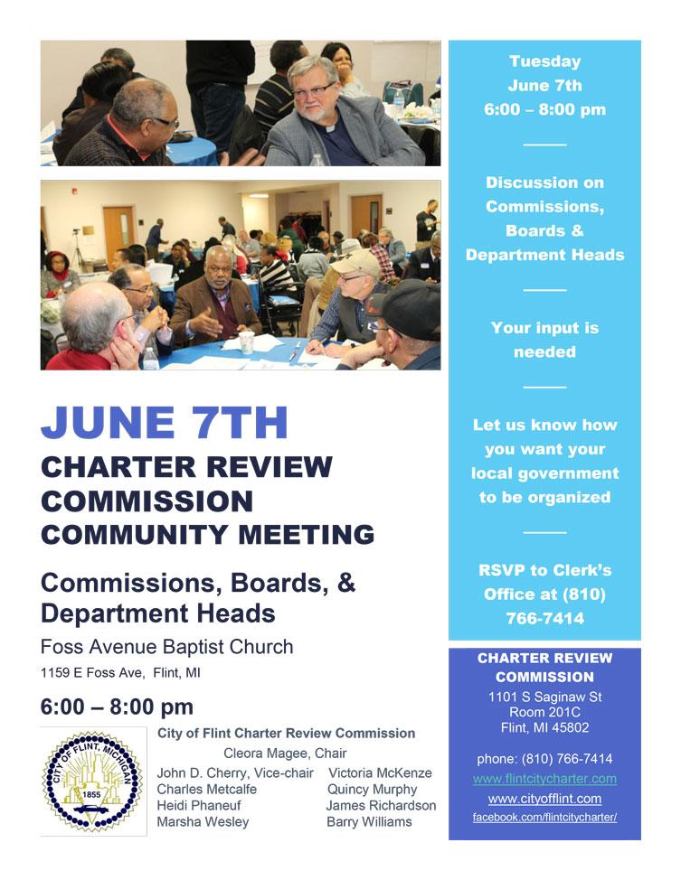 Community Meeting Tonight!