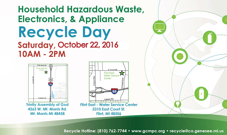 Household Hazardous Waste, Electronics and Appliance Recycle Day
