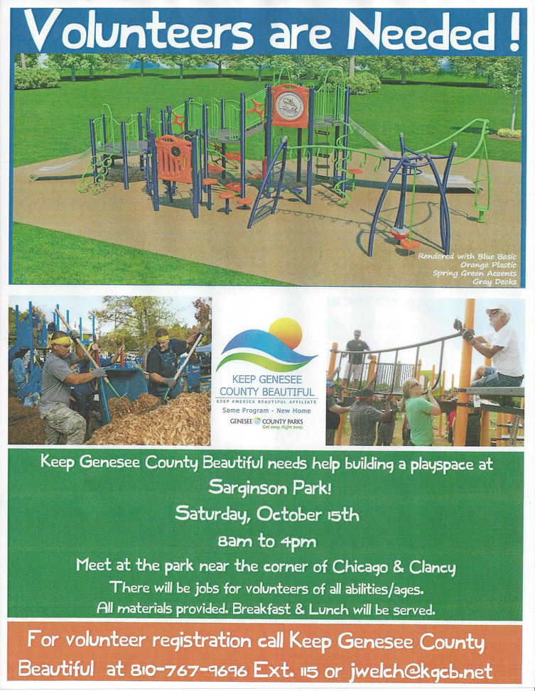Sarginson Park Playscape Build