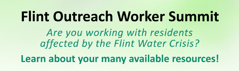Flint Outreach Worker Summit 2016