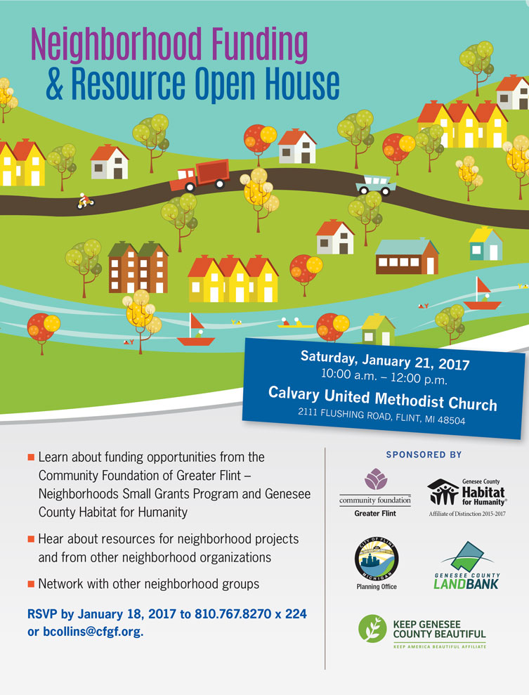 Neighborhood Funding & Resource Open House