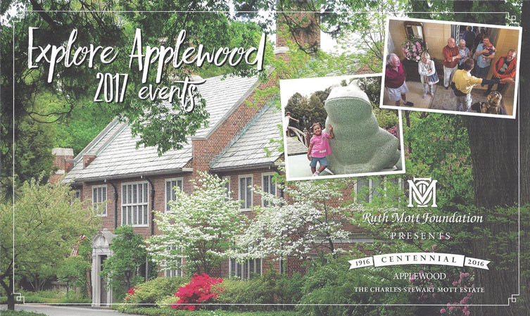 2017 Applewood Estate Events