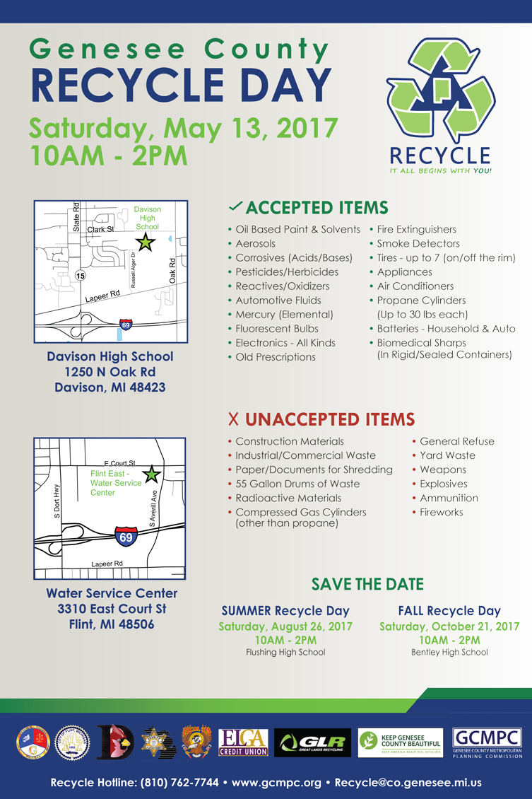 Genesee County Recycle Day @ Bentley High School | Burton | Michigan | United States