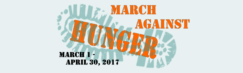 Fight Hunger with the Food Bank during National Nutrition Month!