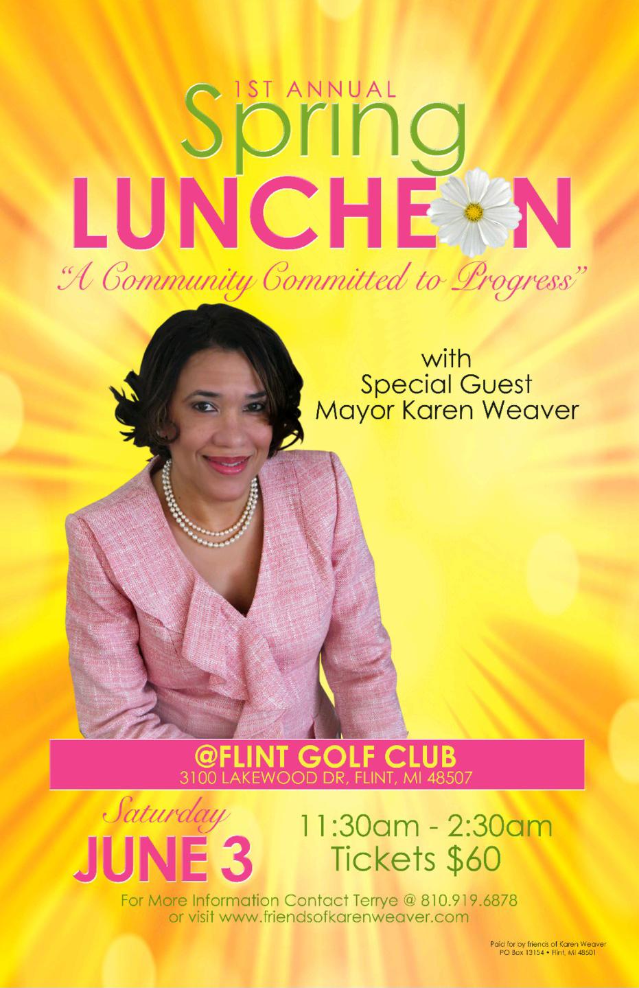 1st Annual Spring Luncheon @ Flint Golf Club | Flint | Michigan | United States