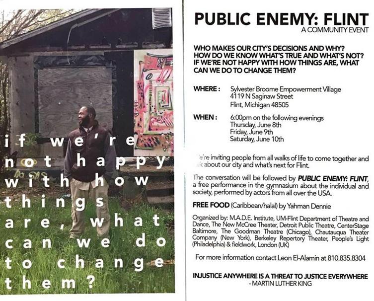 Public Enemy: Flint @ Sylvester Broome Empowerment Village | Flint | Michigan | United States