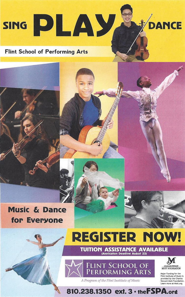 Flint School of Performing Arts Registration
