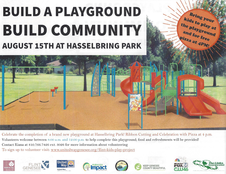 Build a Playground - Hasselbring Park @ Hasselbring Park | Flint | Michigan | United States