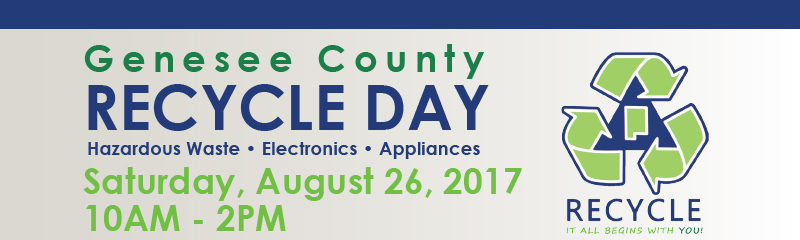 PRESS RELEASE: County-Wide Recycle Day Event