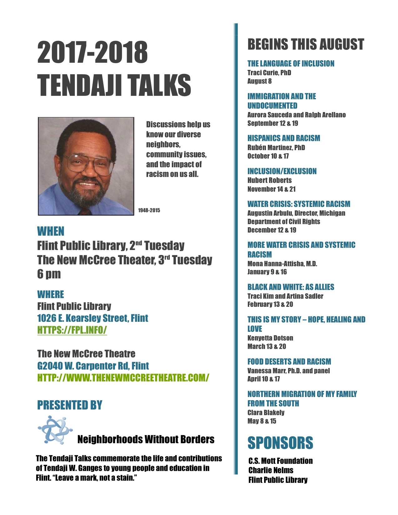 Tendaji Talks Tackles DACA in Tuesday Discussion