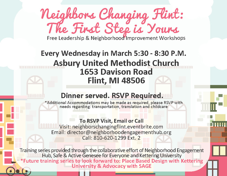Neighbors Changing Flint @ Asbury United Methodist Church | Flint | Michigan | United States