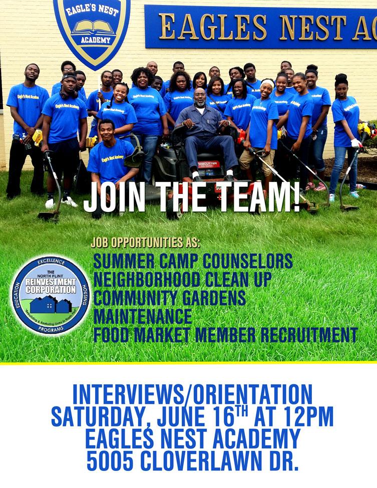 North Flint Reinvestment Corporation Job Fair