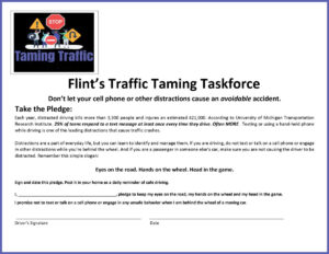 Traffic Taming Task Force Pledge