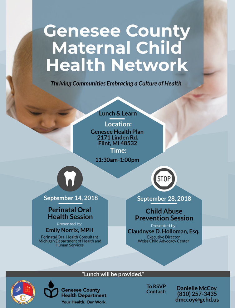 Prenatal Oral Health Lunch & Learn @ Genesee Health Plan | Flint | Michigan | United States