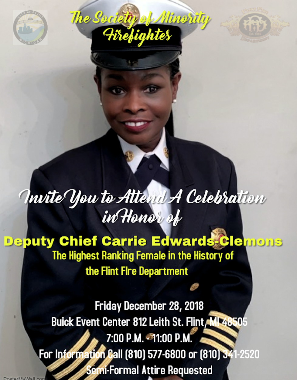 Celebration in Honor of Deputy Chief Carrie Edwards-Clemons