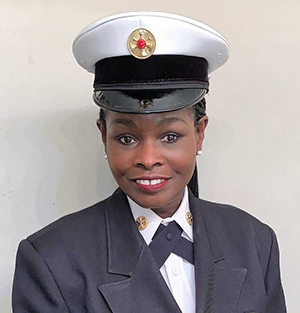 Carrie Edwards-Clemons, Deputy Fire Chief, City of Flint Fire Department
