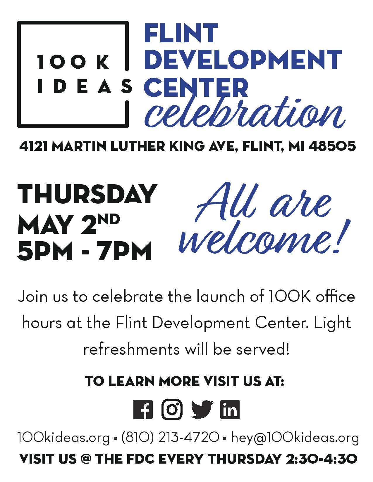 Flint Development Center Celebration @ Flint Development Center