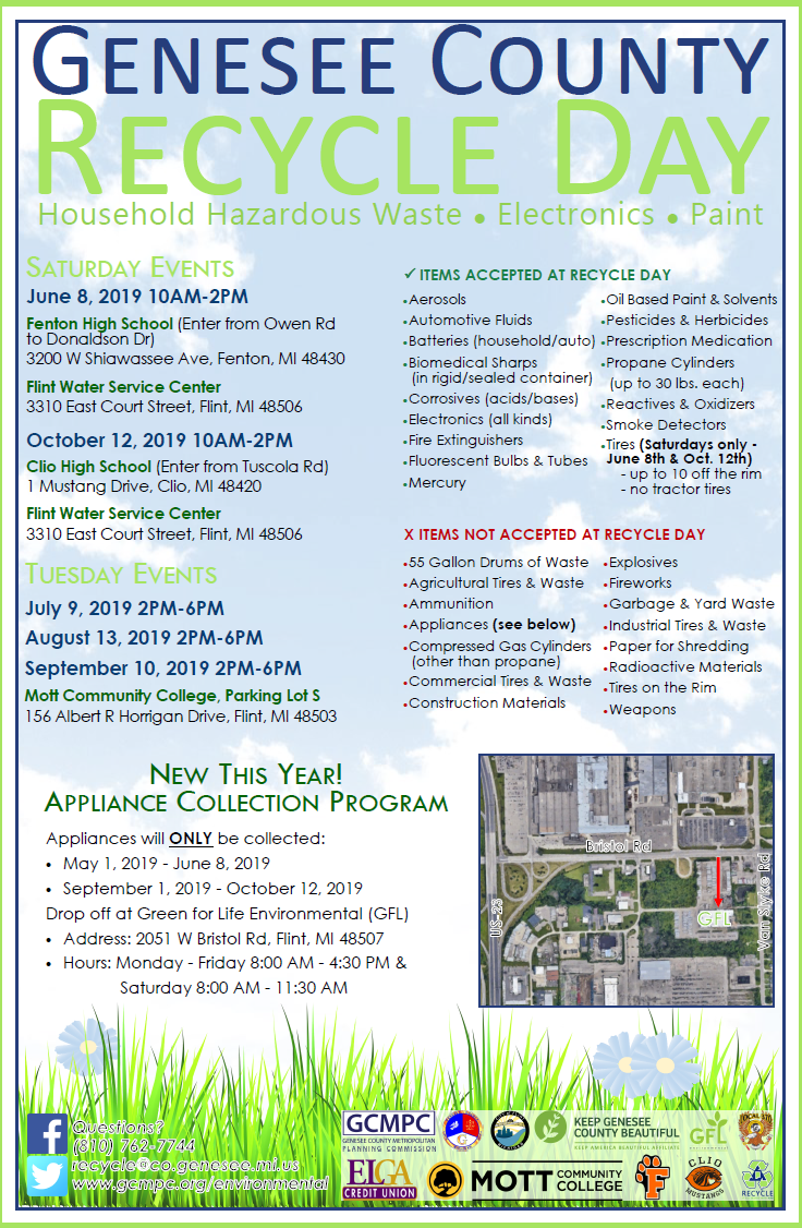 Genesee County and City of Flint Recycle Day