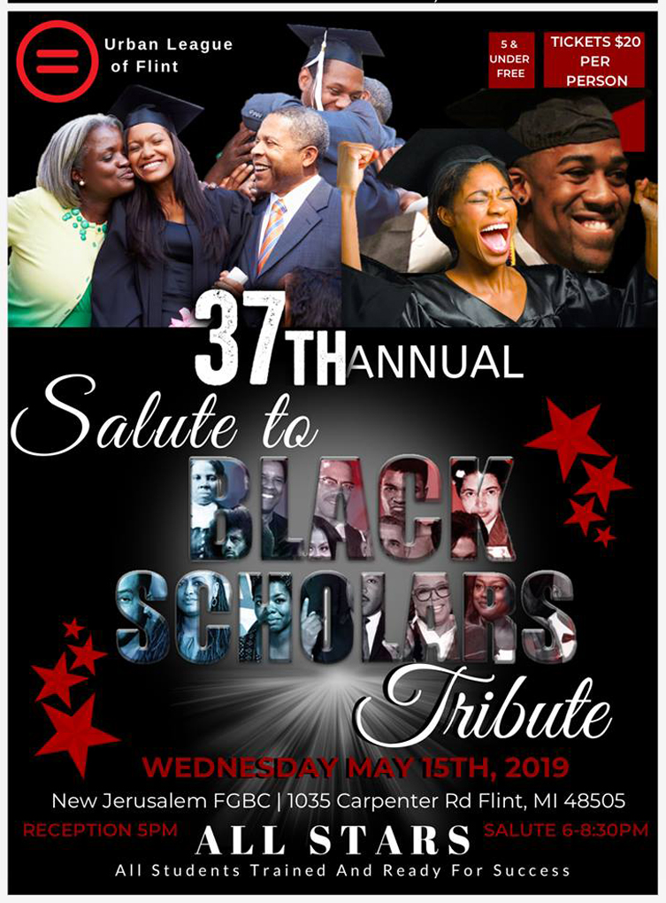 37th Annual Urban League of Flint Salute to Black Scholars