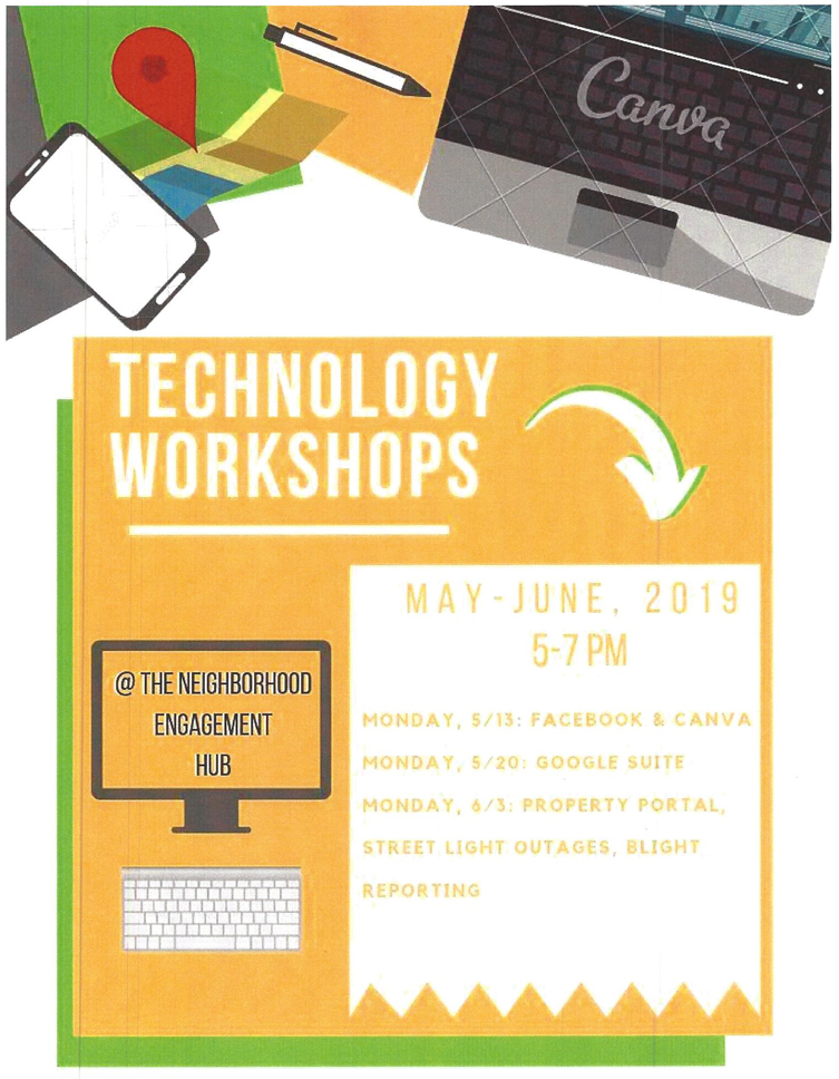 Google Suite Technology Workshop @ Neighborhood Engagement Hub | Flint | Michigan | United States