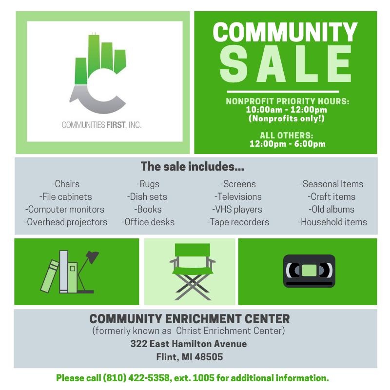 Community Sale @ Community Enrichment Center