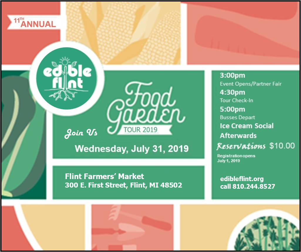 Edible Flint Garden Tour