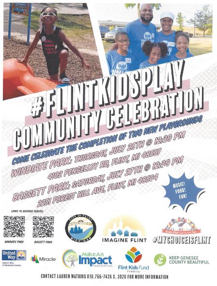 Playground Build Celebration @ Windiate Park