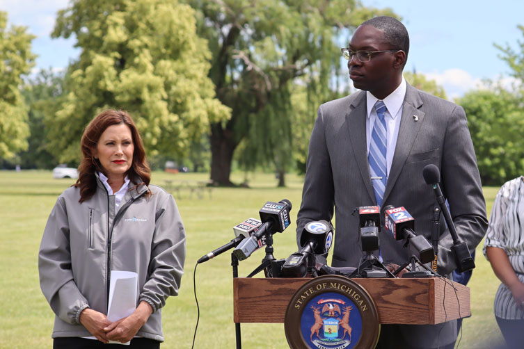 PHOTOS: Governor Gretchen Whitmer and Lt. Governor Gilchrist Celebrate Reopening of State to Full Capacity, Highlight the Administration's Economic Jumpstart Plan